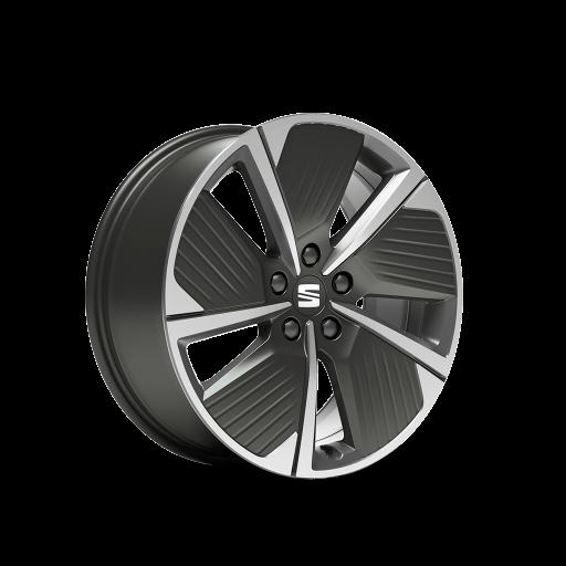 18'' Aero Cosmo Gri Alüminyum Alaşımlı Jantlar (Performance 30/11 Machined)